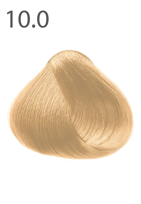 "SILK COLOUR Permanent Cream Colour, tone ""10.0. Light natural blond"""