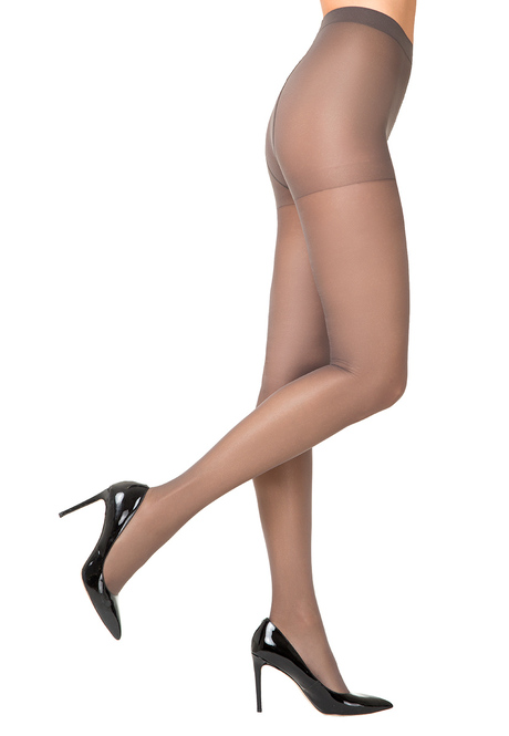 ST417 Silky Tights, 40 den, smoky grey , size L/XL