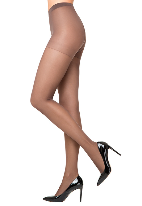 ST418 Silky Tights, 40 den, coffee, size L/XL