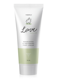 L.OVE Nourishing & Softening Foot Cream