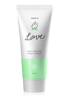 L.OVE Anti Fatigue Foot Cream