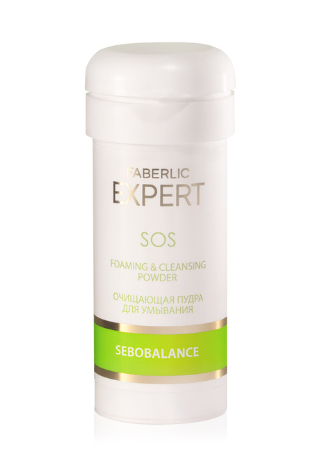 Expert Sebobalance SOS Foaming & Cleansing Powder