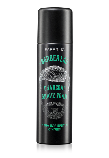 Charcoal Shave Foam